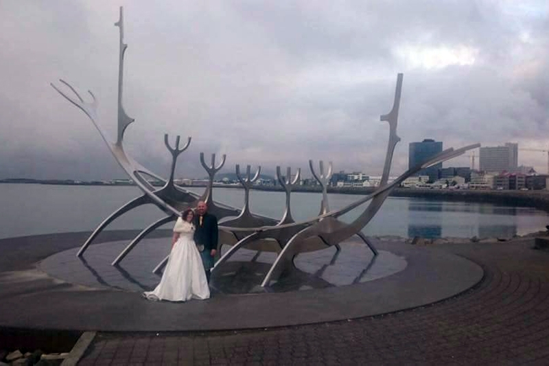 Getting married in Iceland in the true Viking tradition
