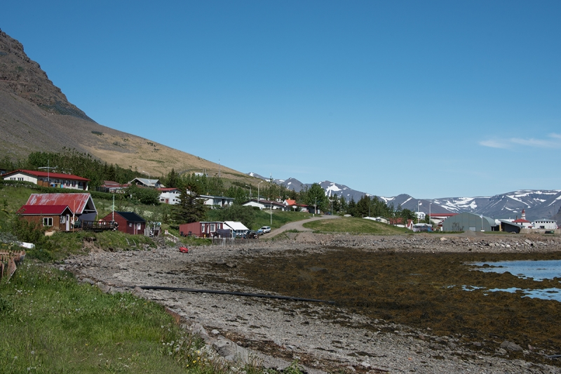 Bíldudalur is a small village in the West Fjords in Iceland