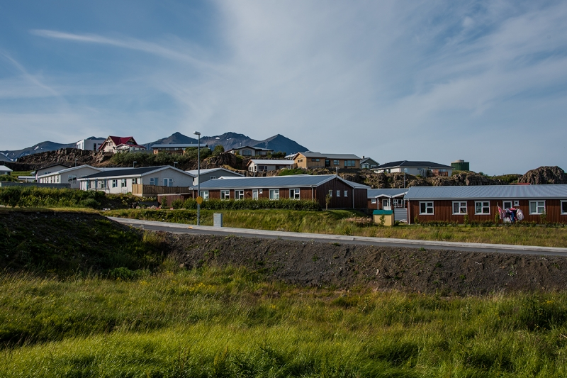 Borganes is a town in the Western Region in Iceland
