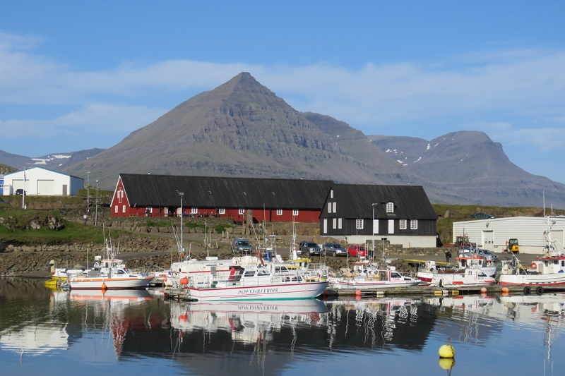 Djúpivogur is a small town in the Eastern Region in Iceland