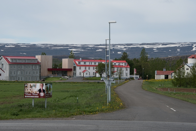 Egilsstaðirhas good accommodation and hotels