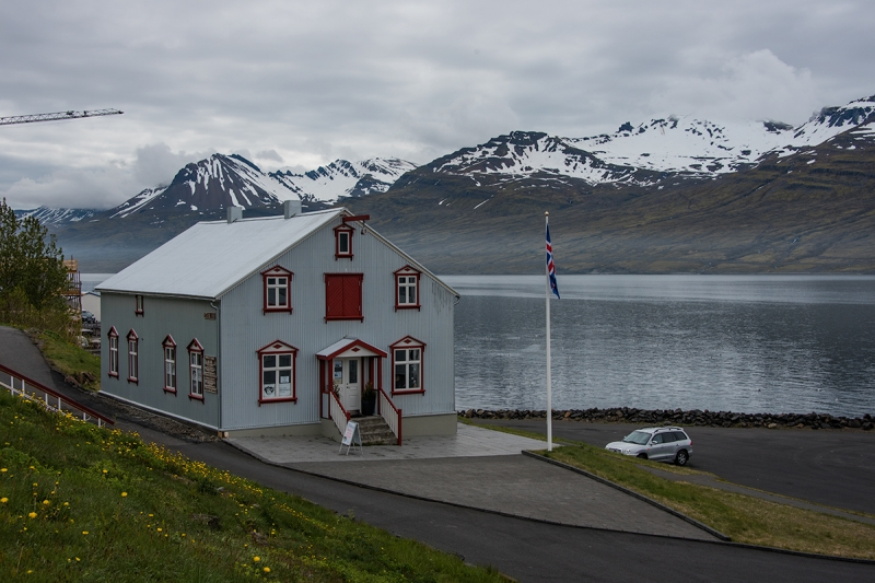 Fáskrúðsfjörður is a small town in the Eastern Region in Iceland
