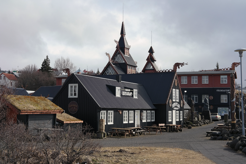 The Viking Village is the center and home of the annual Viking Festival