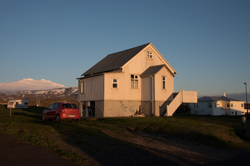 Rif and Hellissandur are two small villages that are only three kilometers apart on the Snæfellsnes peninsula