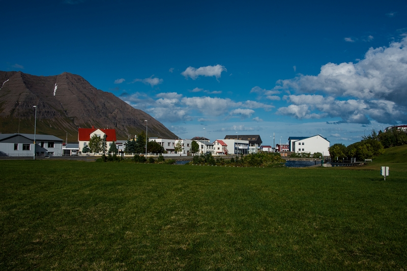 Ólafsfjörður is a small town in the Northern Region in Iceland