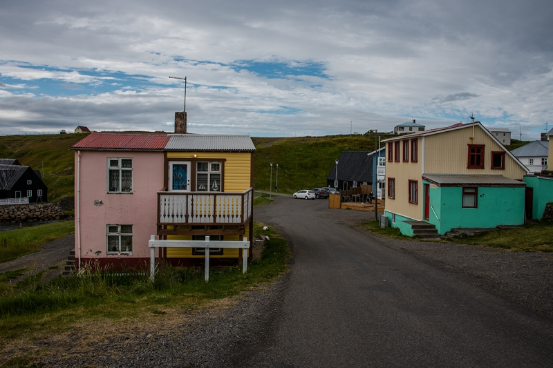 Hofsós is a tiny village in the Northern Region in Iceland