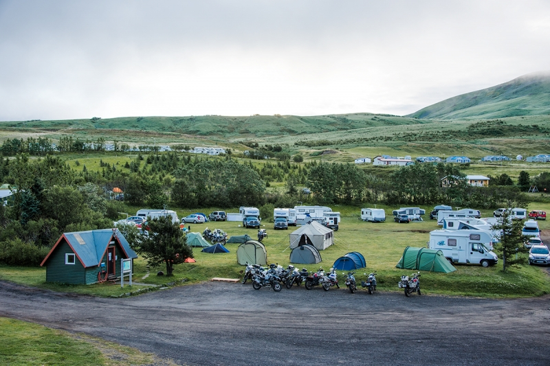 Húsavík has one of the best Camping Sites in Iceland