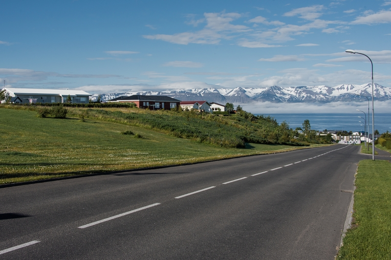Húsavík is a bautiful small town in the Northern Region in Iceland