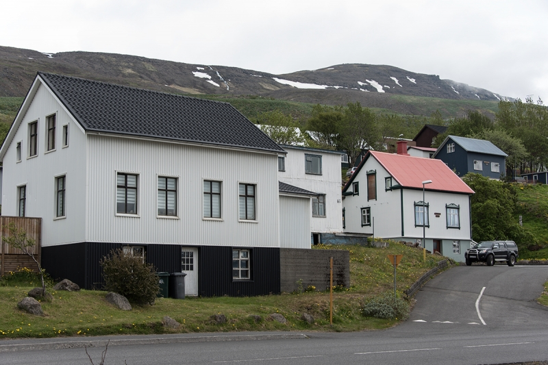 Eskifjörður is a small town in the Eastern Region in Iceland