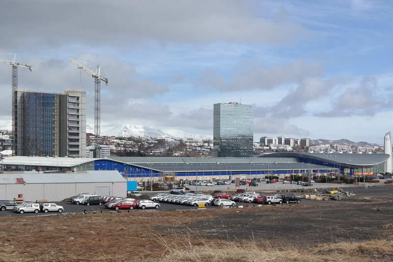 Smárinn is a large mall with two brand-new office towers