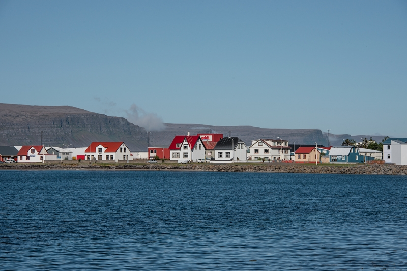Patreksfjörður is a small village in the West Fjords in Iceland