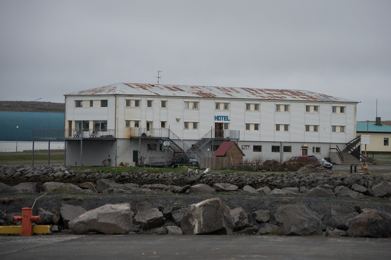 Raufarhöfn is one of the smallest villages in Iceland
