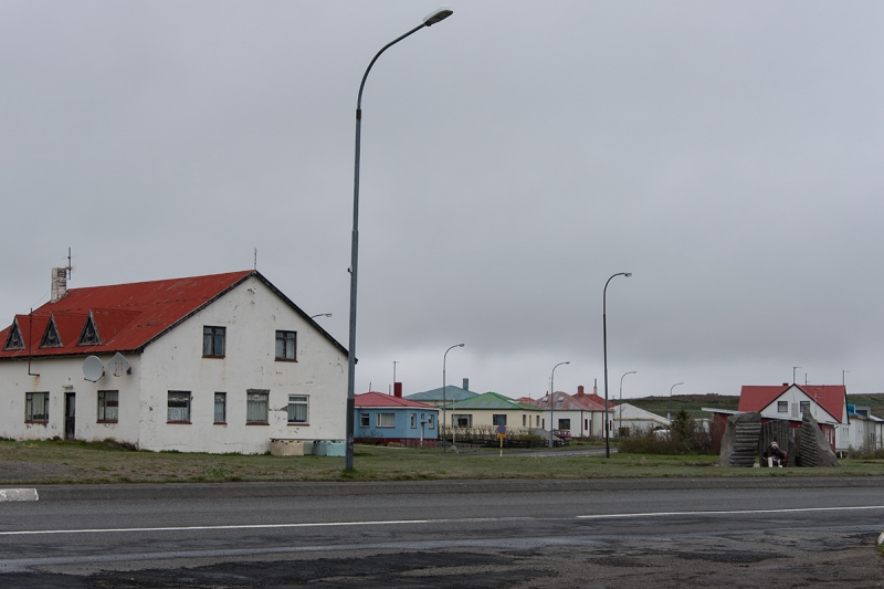 Raufarhöfn in the north east on Melrakkasétta plain is one of the smallest villages in Iceland