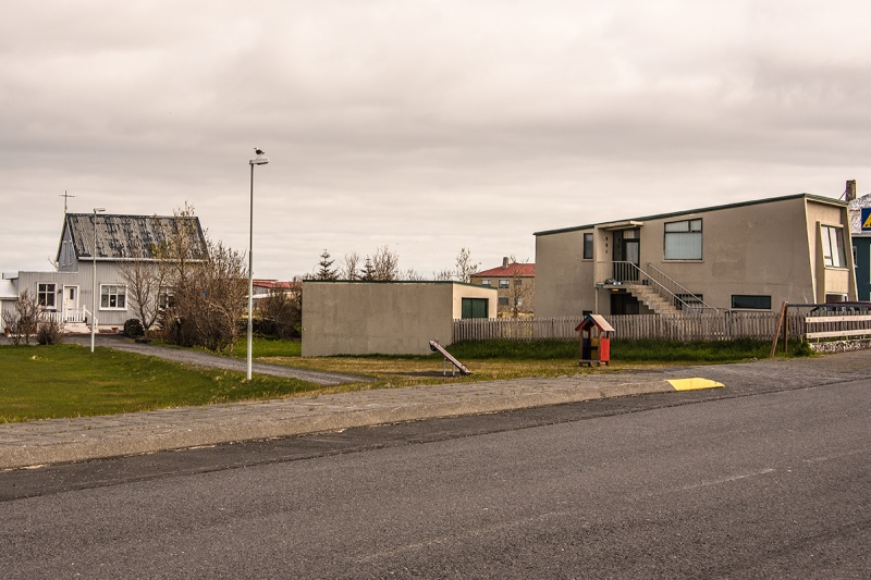 Most of the houses in Sandgerði are single family houses