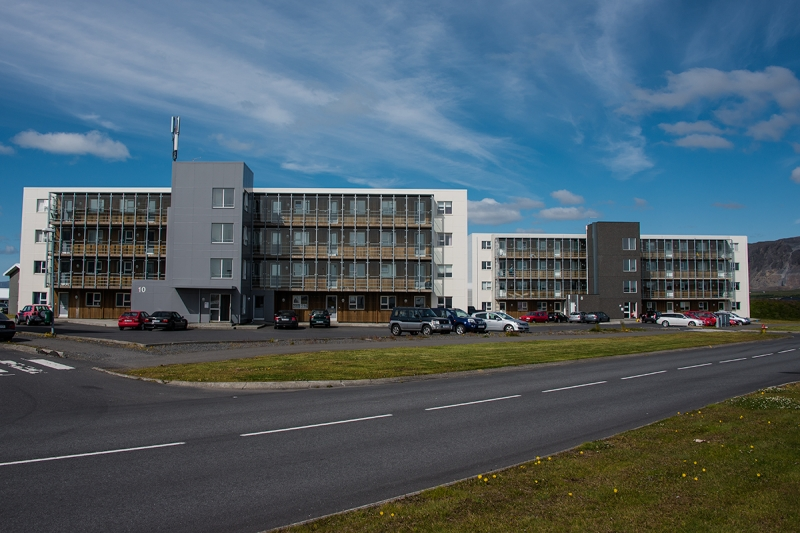 Selfoss is a large town and center of the Southern Region in Iceland