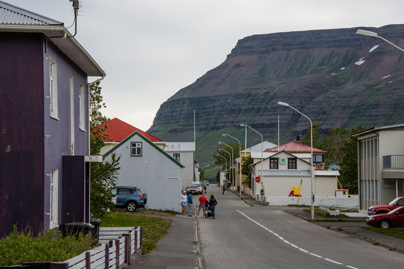 Suðureyrir is a small village in the West Fjords in Iceland