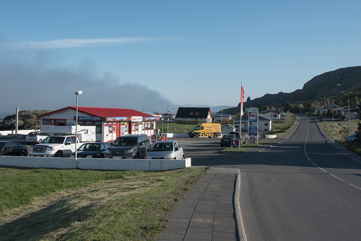 Gas stations are usually easy to find in Iceland