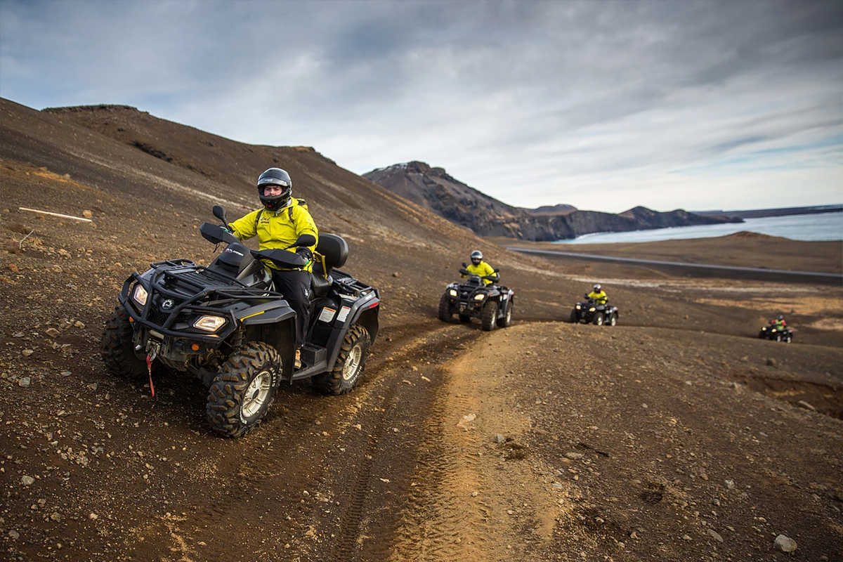 lava beach two hour atv quad tour hit iceland. Black Bedroom Furniture Sets. Home Design Ideas