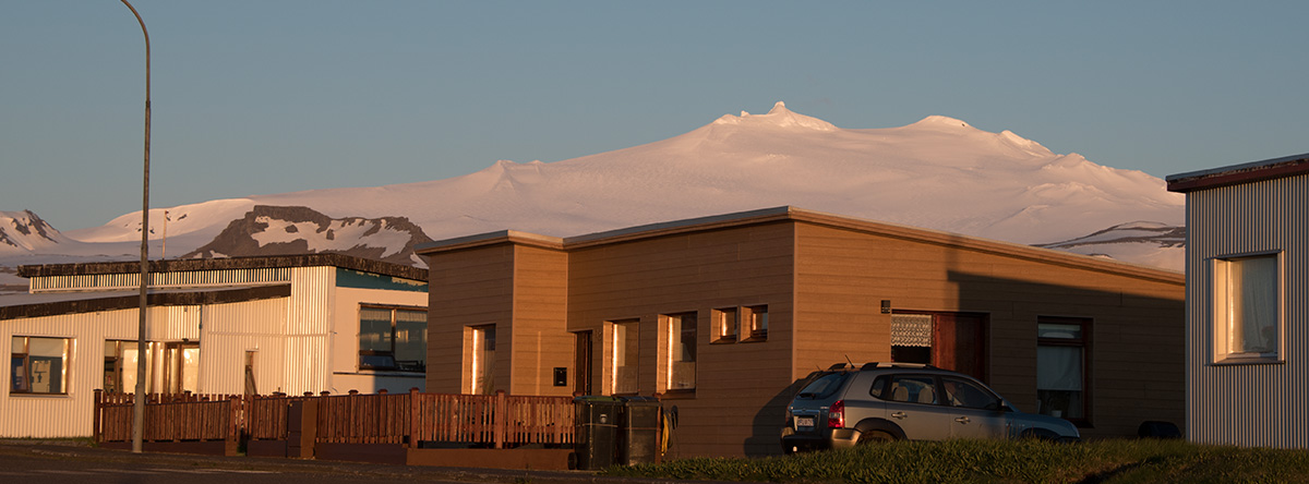 Hellissandur and Rif accommodation in West Region Snæfellsnes Iceland