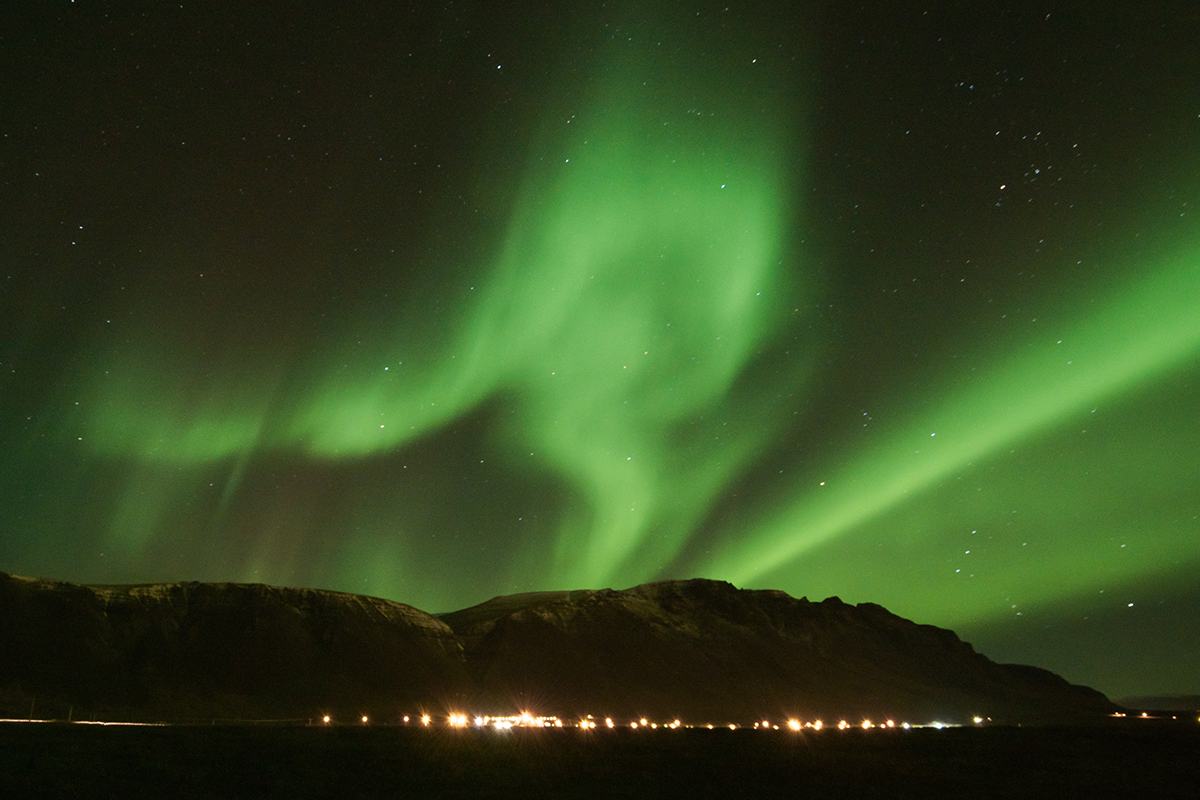 Autumn is also a great time to view the Northern Lights