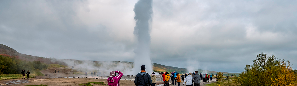 Geysir and Strokkur hotspring