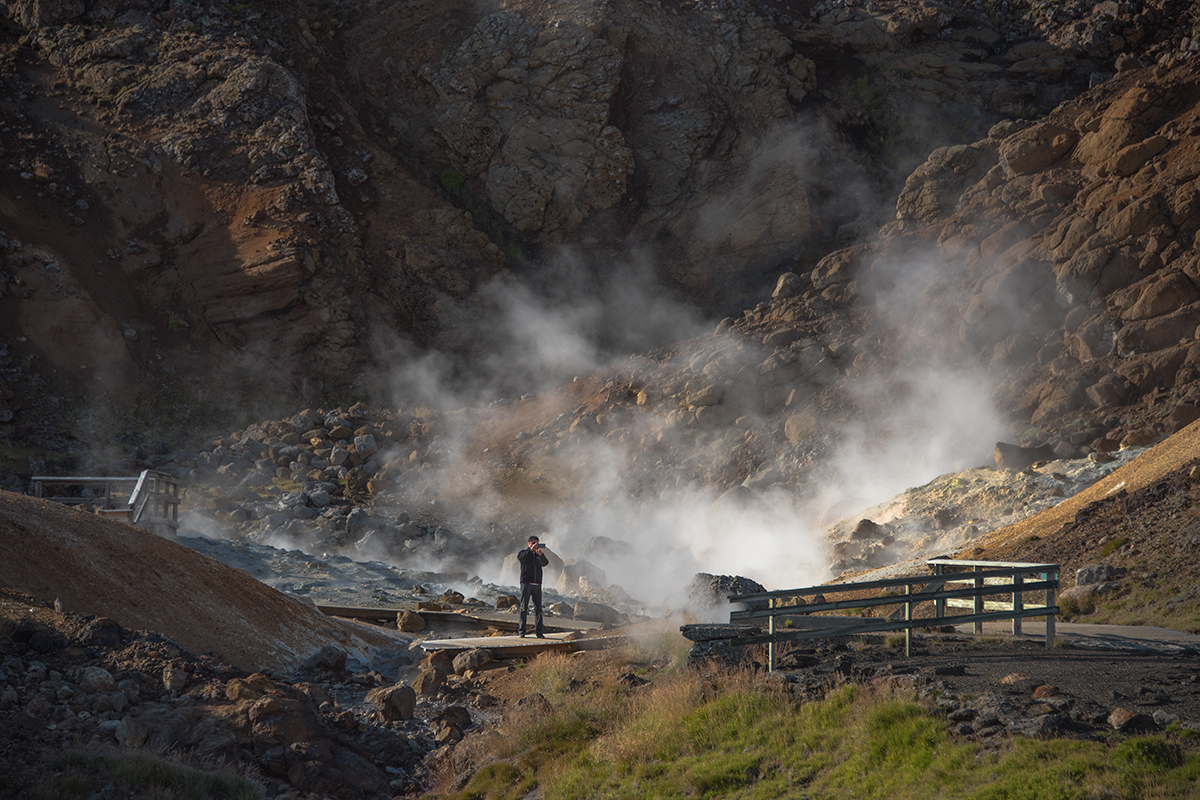 Spring is a good time though to visit some of the hot springs like Seltún near Reykjavík