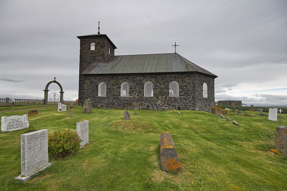 Þingeyrarkirkja church in Húnavatnssýsla