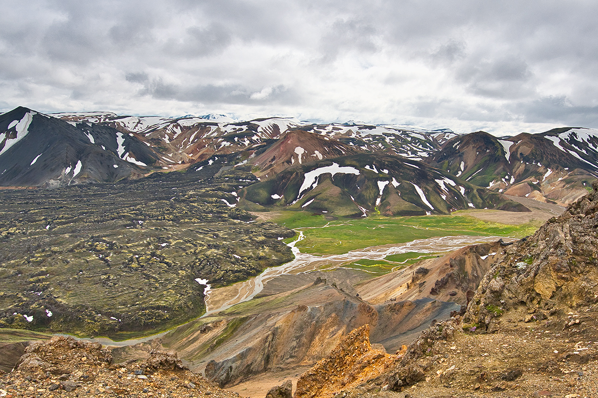 Hiking in Landmannalaugar