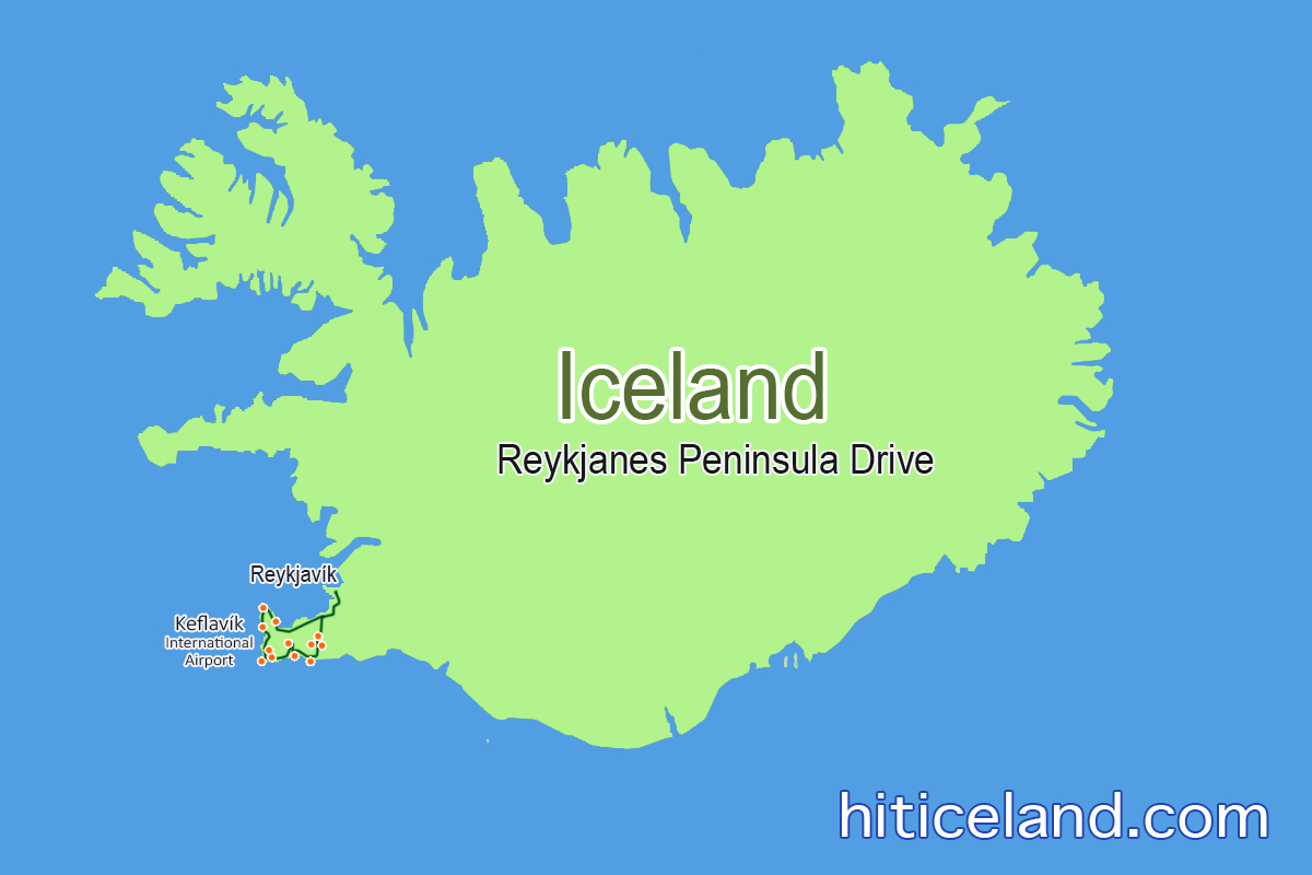 Reykjanes Peninsula day tour is a perfect road trip for ... on iceland mountains map, iceland map by christiane engel, iceland scandinavia europe, iceland map black and white, iceland physical map, iceland on globe, iceland flag, iceland map with map key, iceland travel, iceland country map, iceland road map, iceland map with volcanoes, iceland global map, world map, iceland topographic map,