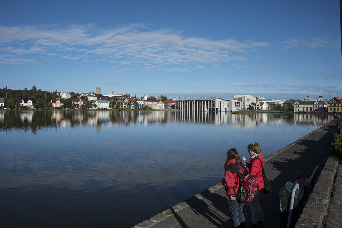Reykjavík city center is a great place to stay when visiting Iceland