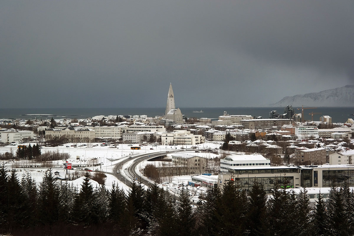 Reykjavik is a great place to visit in winter