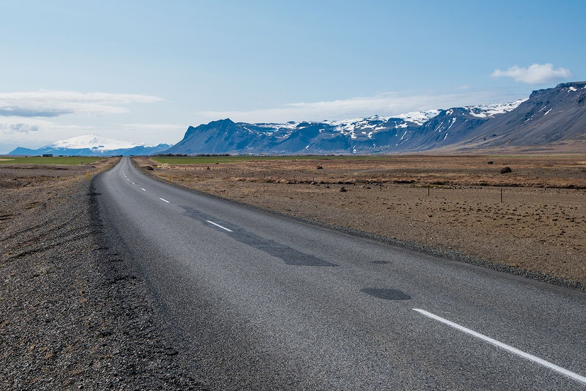 Snæfellsnes drive in Iceland