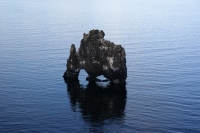 Hvítserkur or white shirt as it is translated to English is 15 m high basalt rock situated near the eastern shore of Vatnsnes.