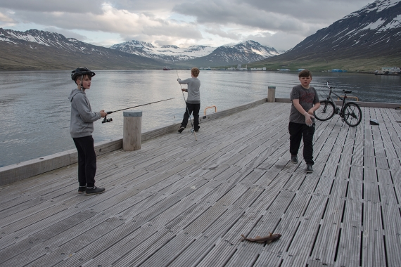 Fishing and fish processing is still the main means of income