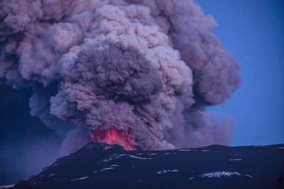 Some Icelanders have experienced more than 25 eruptions