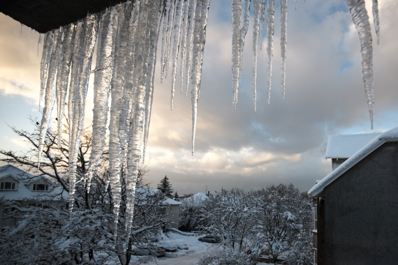 Icicles are named after the notorious folklore troll Grýla in Iceland