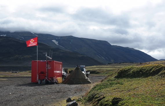 In the heart of the Icelandic highlands is Nýidalur (New Valley).