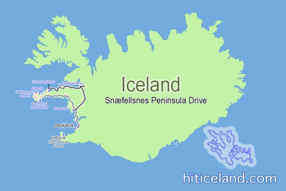 The many reasons why you should drive the Snæfellsnes Peninsula on you trip to Iceland