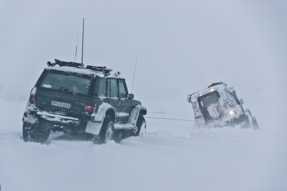 "If you have been in Iceland and seen those 4X4 with huge tires and wondered ""what the hell for""?"