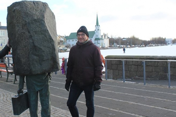 While some people come to Iceland to explore its majestic landscapes, Roger prefers sticking close to the city, partaking in Reykjavík nightlife.