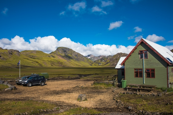 Hvanngil is a small valley in the highland and is a well-known place as it is part of the popular hiking trail Laugavegur.