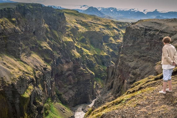 Markarfljótsgljúfur Canyon is a kind of hidden gem in the Icelandic landscape.