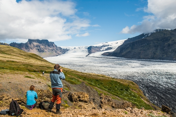 In South Iceland, you will find the unique Skaftafell National Park