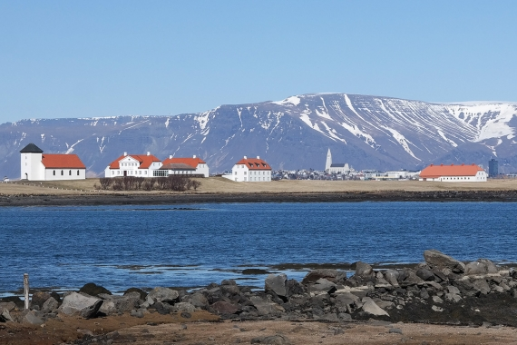 Garðabær is a town in where the President of Iceland resides, at Bessastaðir