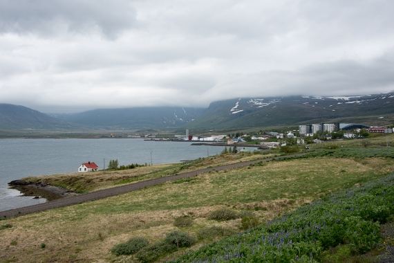 Reyðarfjörður is a small town in the Eastern Region in Iceland