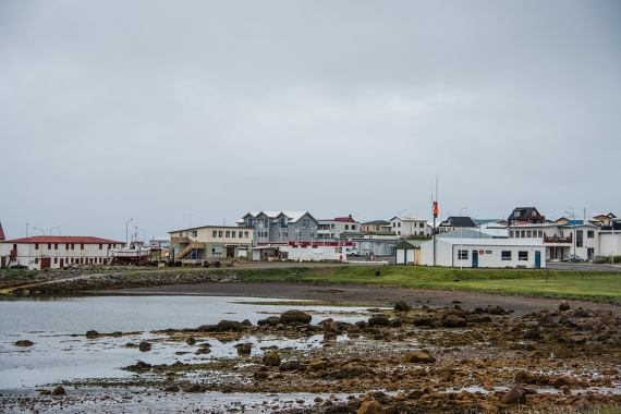 Þórshöfn is a small village in the Northern Region in Iceland