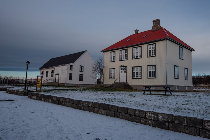 "Árbær - The name of this district comes from an old farm meaning ""the farm by the river."""