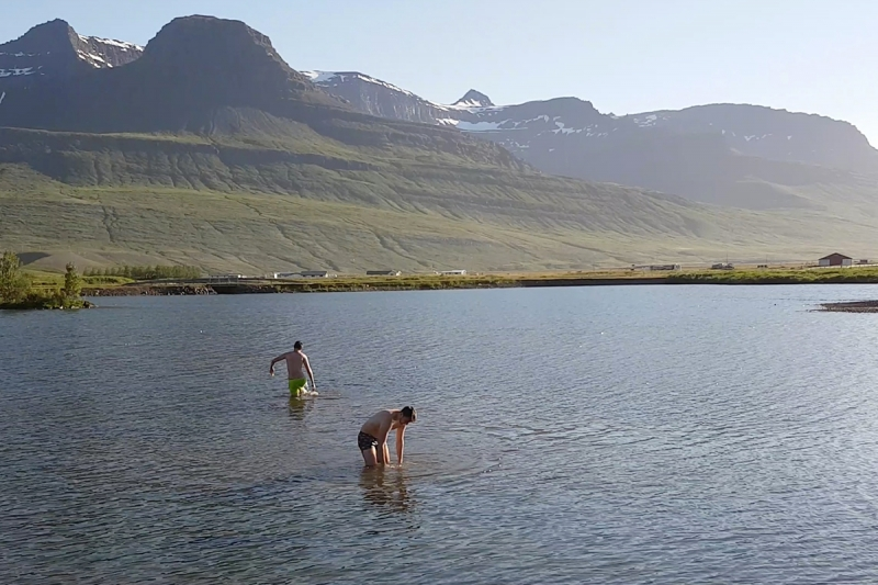 French dudes in Iceland
