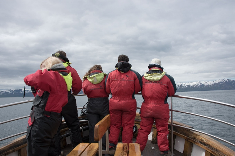 The trip was a three-hour sailing on the boat with the friendly name Bjössi Sör.