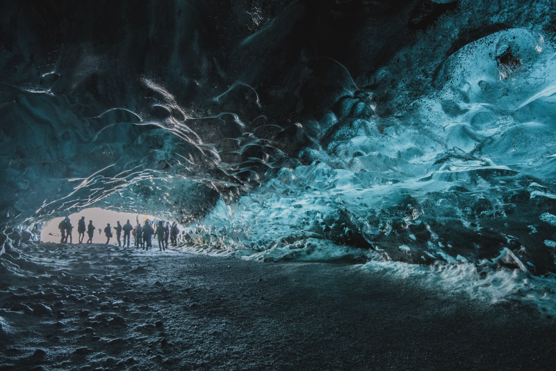 The second cave, Crystal Cave